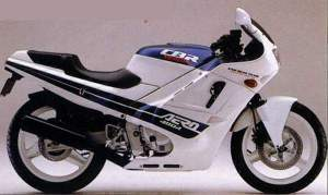 Honda CBR400R 86