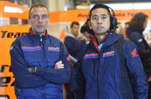 Takeo-Yokoyama-HRC-Technical-Director-Livio-Suppo-Manajer-Repsol-Honda