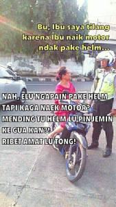 meme ibu2 vs polisi