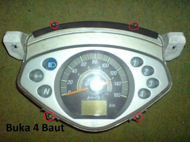 langkah buka speedometer