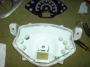 cara ganti LED speedometer 5