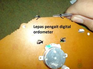 cara ganti LED speedometer 8