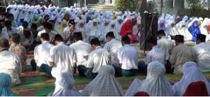 doa bersama sebelum ujian nasional