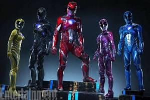 kostum terbaru power rangers