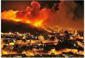 kebakaran-melanda-israel