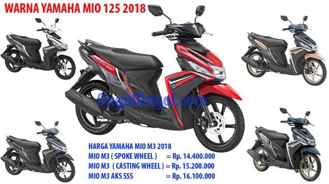 Yamaha mio 125 2018