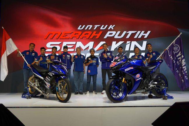 Skuad Yamaha Racing Indonesia 2018